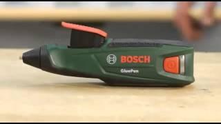 Aku lepicí pistole Bosch GluePen  - Produktvideo (DE)