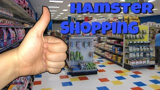 Buying A Hamster At A Local Pet Store