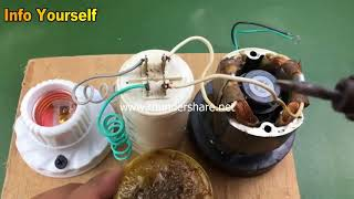 220V generator , Free energy , How to make new science experiment project 2018 by viral world