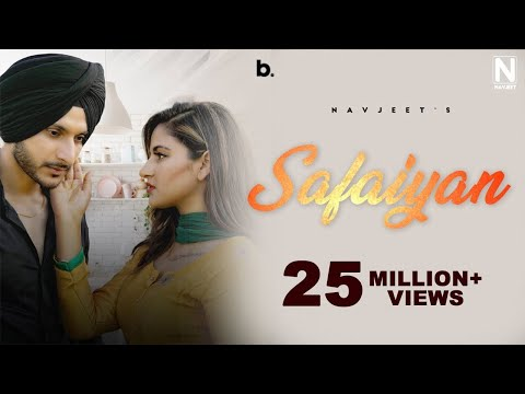 Safaiyan - Navjeet (Official Video) Goldboy | Kjatti | Latest Punjabi Romantic Song 2020