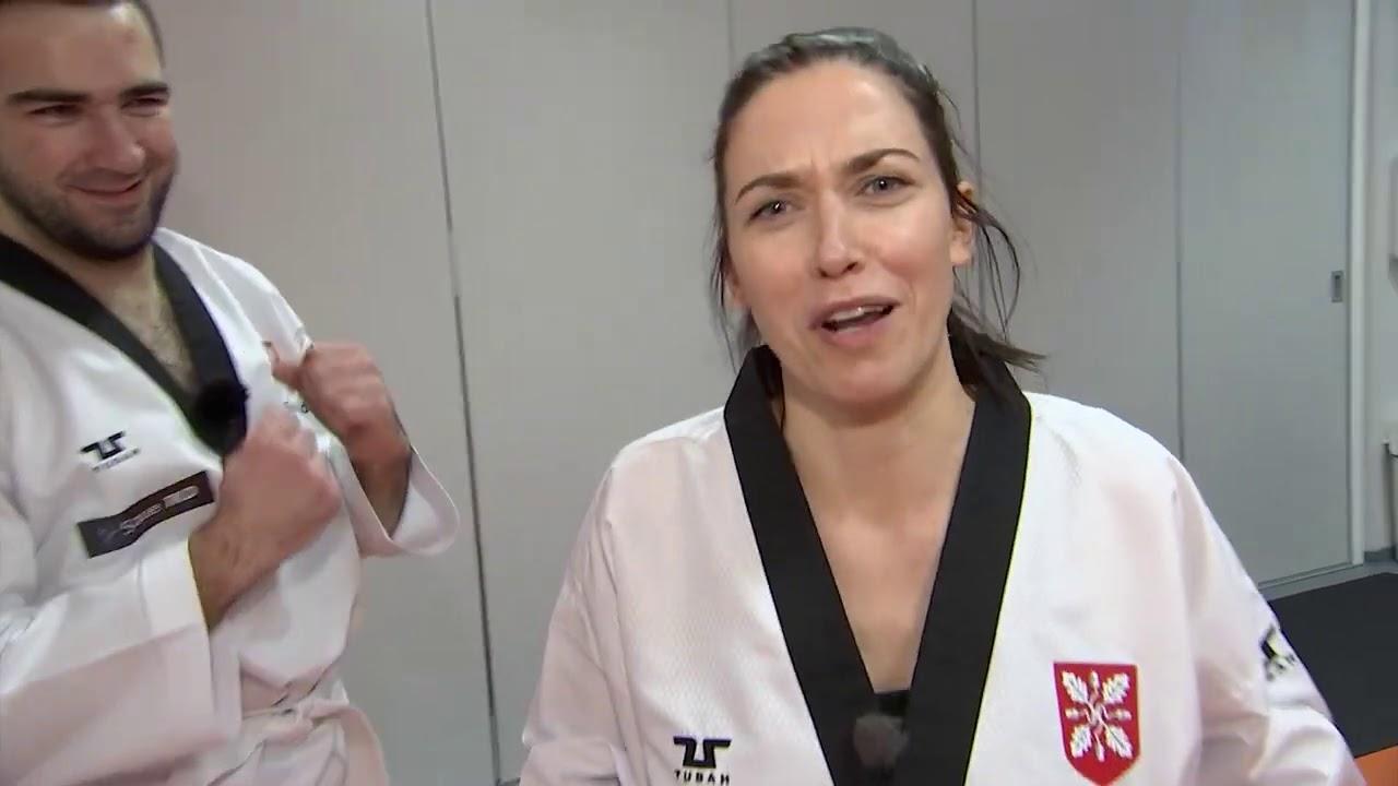 """Kanal 2 """"Õhtu!"""" - saatejuhid selgitasid välja taekwondo meistri"""