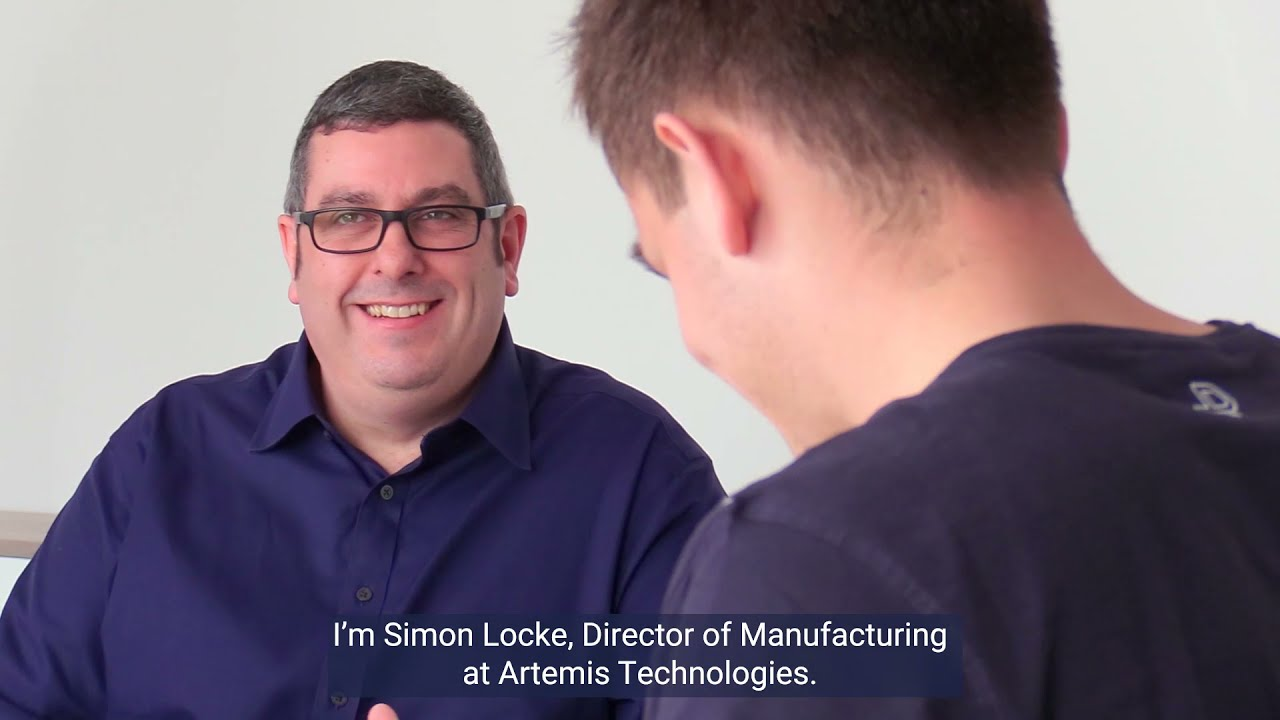 Artemis Technologies appoints new Director of Manufacturing, Simon Locke.