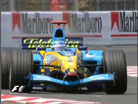 F1 Monaco 2004 Qualifying - Jarno Trulli Pole Lap