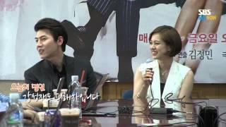 SBS [나만의당신] - 웃음꽃 핀 기자간담회