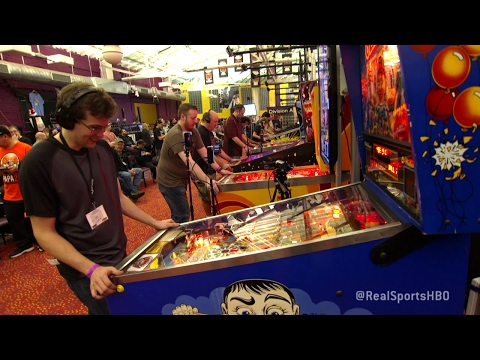 Pinball Wizard-Robert Gagno: Real Sports Full Segment (HBO)