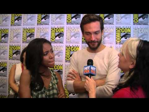 Nicole Beharie and Tom Mison on the overwhelming fan response for 'Sleepy Hollow'