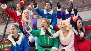 BUDDY THE ELF Christmas Flash Mob! TheSeanWardShow...