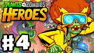 Plants vs. Zombies: Heroes - Gameplay Walkthrough Part 4 - Electric Boogaloo Hero! (iOS, Android)