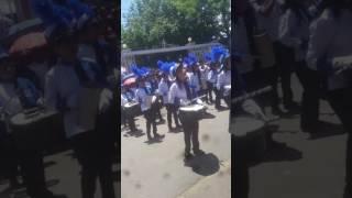 La banda del centro escolar barrio las de licias en santa rosa de lima año 2016