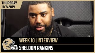 Sheldon Rankins Not Taking Any Team Lightly | New Orleans Saints Football