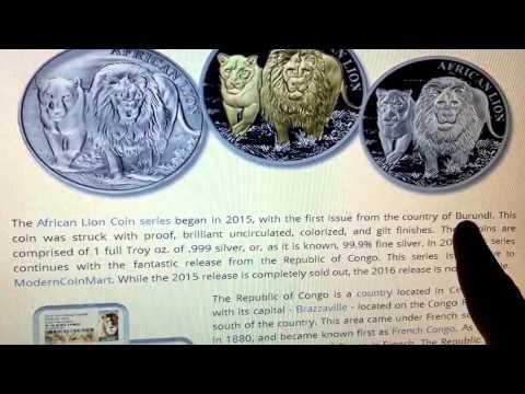 Coin Talk: Republic of Congo Silver Coins