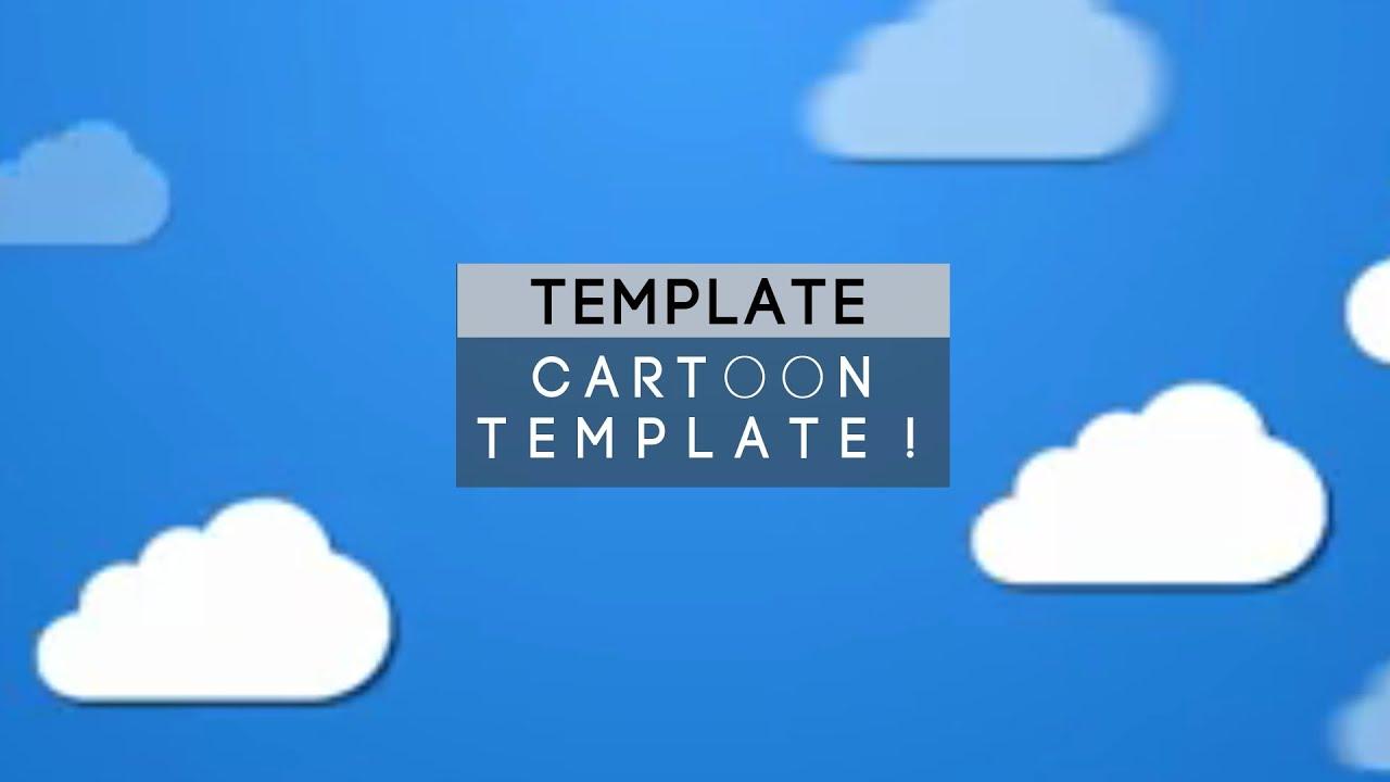 Free] Cartoon 2D Intro Template - YouTube