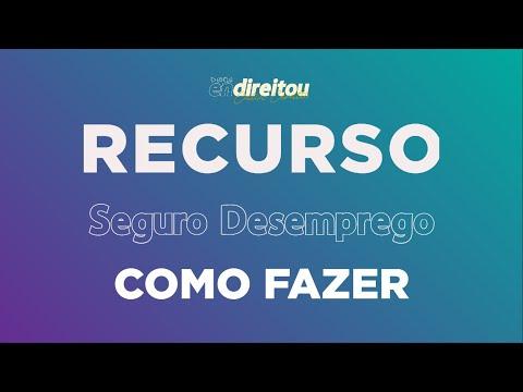 SEGURO DESEMPREGO | Recurso | FGTS DIVERGENTE
