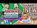 Gambar cover POPSICLE Trampoline Challenge   Shawn's New Bedroom + Baby's First Cold ๑◕︵◕๑ FUNnel VLOG
