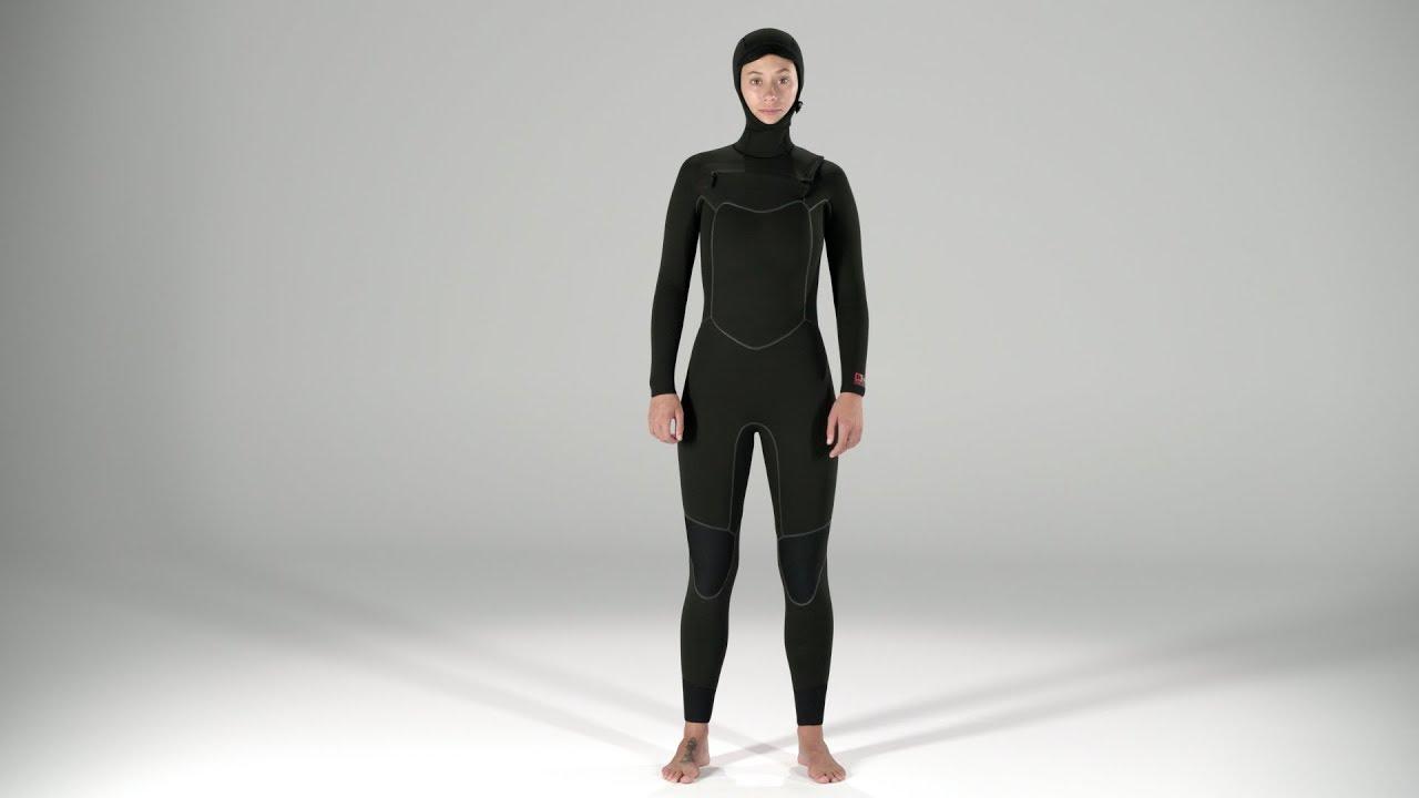 Patagonia Women s R4® Yulex® Front-Zip Hooded Full Suit - YouTube 372c76daa