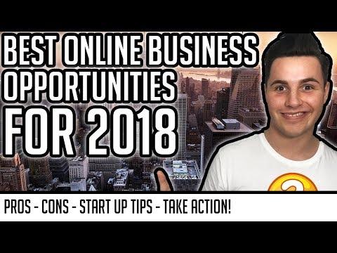 The Best Online Business Opportunities For Aspiring Entrepreneurs in 2018! 💻