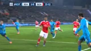 Зенит - Бенфика 1:2. 1/8 Лиги Чемпионов. 2015/16 (Zenit - Benfica)