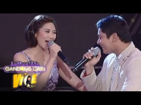 Sarah G, Coco Martin in 'Maybe This Time' duet on GGV