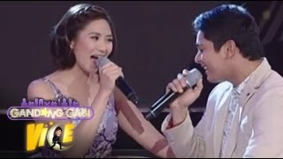 Repeat youtube video Sarah G, Coco Martin in 'Maybe This Time' duet on GGV