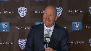 2019 Pac-12 Men's Basketball Media Day: UCLA's Mick Cronin