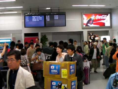 20100522韓国代表来日