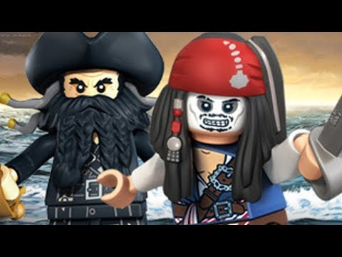 LEGO Pirates of the Caribbean - Level 3 -  Tortuga 100% Complete