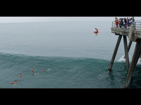 Huntington Beach - Pier Jump Lifeguards , 5/30/15