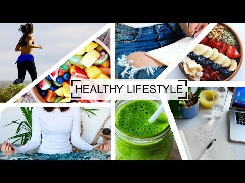 leading healthy lifestyle