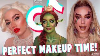 Perfect Makeup Art On TikTok