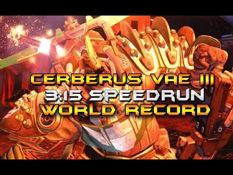 Cerberus Vae III Speedrun World Record! [3:15]
