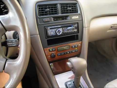 hqdefault 2001 lexus es300 new stereo demo youtube 1998 lexus es300 stereo wiring harness at panicattacktreatment.co