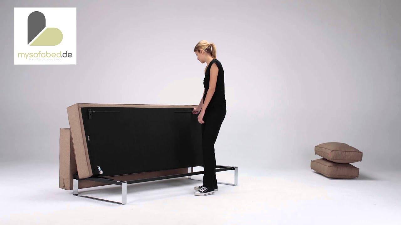 supreme deluxe schlafsofa mit bettkasten und lattenrost. Black Bedroom Furniture Sets. Home Design Ideas