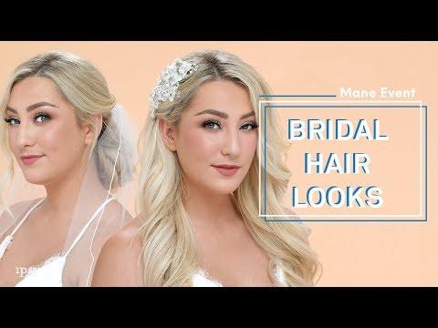 Beautiful Bridal Hairstyles & Wedding Hair Tutorial | ipsy Mane Event