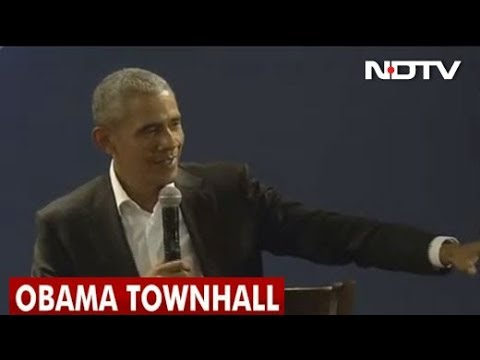 Barack Obama Townhall in Delhi