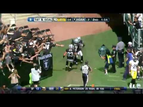 Oakland Raiders 2012 highlights