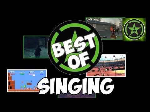 Best of Achievement Hunter - Singing