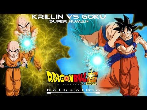 DBS: Krillin Vs Goku (Super Human) - HalusaTwin