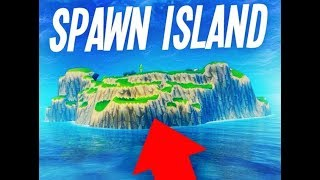 How to Get to Spawn Island on Playground Mode NOT CLICKBAIT (Fortnite)