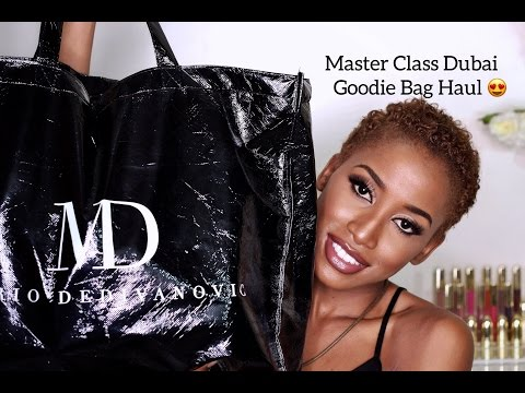 THE MASTERCLASS DUBAI/GOODIE BAG HAUL