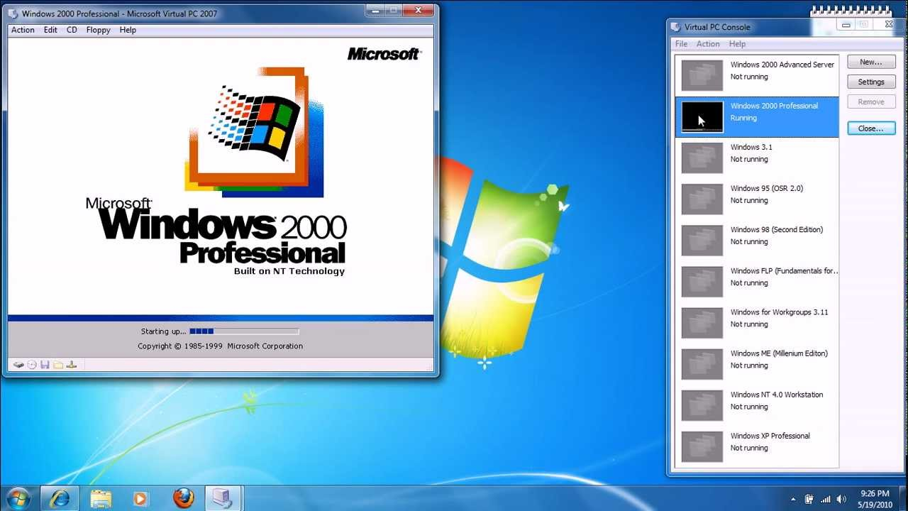 Updating windows 2000 server