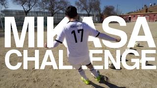 ¡EL BALÓN MÁS DURO DEL MUNDO! | Mikasa Challenge con Alex Puértolas y Juan Arroita