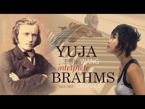 Yuja Wang performer J.Brahms (compilation)