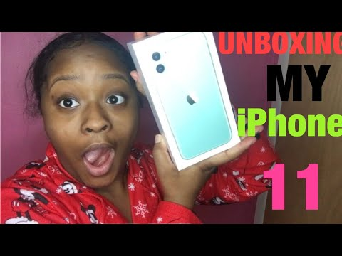 IPHONE 11 UNBOXING +SET UP & FIRST LOOK