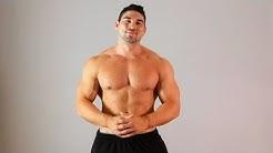 Home Arm Workout for Men w/ Brett Azar | Arm Workout
