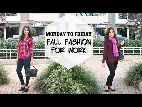 MONDAY TO FRIDAY FALL FASHION | WORK OUTFITS
