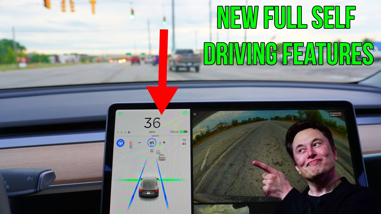 Tesla Software Update 2020.24.6.1 | Autopilot Can Go Through Green Lights! New Camera Driving Views!