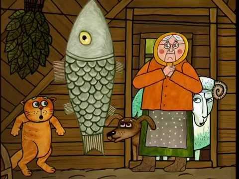 Рыба пес мультфильм