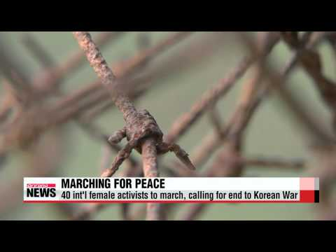 S. Korea approves int′l female activists to cross DMZ from N. Korea   정부, 위민크로스D