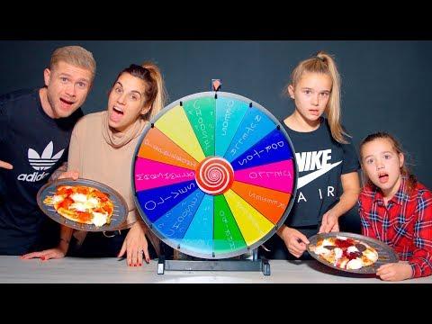 Mystery Wheel Pizza Challenge