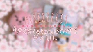 Aliexpress Kpop/Stationery HAUL #3